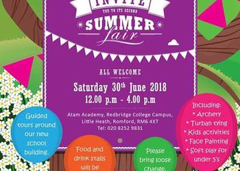 ATAM Academy Summer Fair