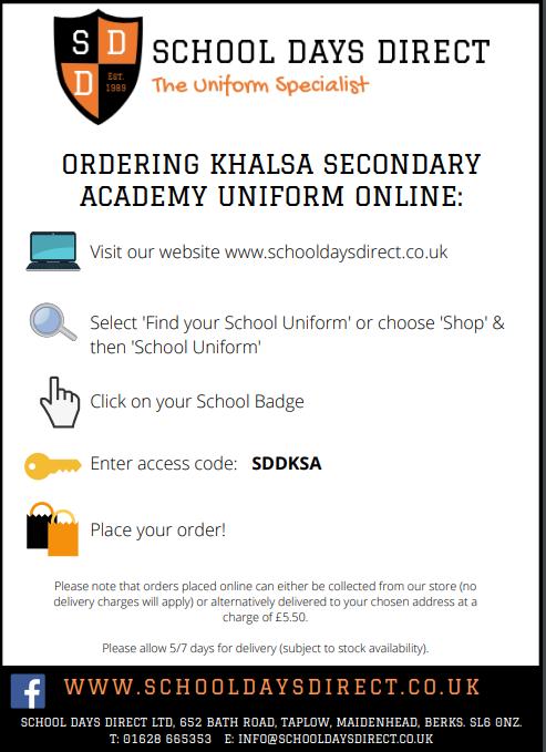 School uniform Flyer